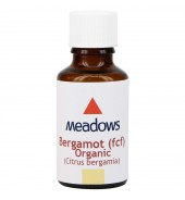 Organic Bergamot (F.C.F.) Essential Oil (Meadows Aroma) 100ml