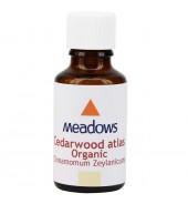Organic Cedarwood Atlas Essential Oil (Meadows Aroma) 100ml