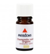 Organic Chamomile Roman Essential Oil (Meadows Aroma) 5ml