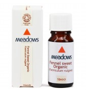 Organic Fennel Essential Oil (Meadows Aroma) 10ml
