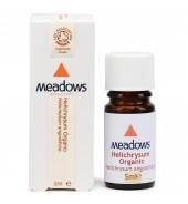 Organic Helichrysum Essential Oil (Meadows Aroma) 10ml