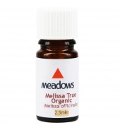 Organic Melissa True Essential Oil (Meadows Aroma) 2.5ml