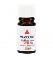 Organic Melissa True Essential Oil (Meadows Aroma) 5ml