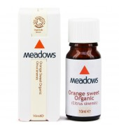 Organic Orange (Sweet) Essential Oil (Meadows Aroma) 10ml