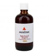 Organic Patchouli Essential Oil (Meadows Aroma) 100ml