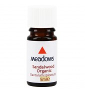 Organic Sandalwood Essential Oil (Meadows Aroma) 5ml