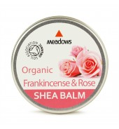 Organic Shea Balm - Frankincense & Rose (Meadows Aroma) 50ml