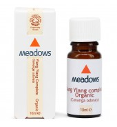 Organic Ylang Ylang Complete Essential Oil (Meadows Aroma) 10ml