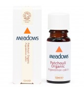 Organic Patchouli Essential Oil (Meadows Aroma) 10ml
