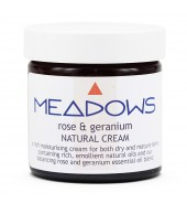 Rose & Geranium Natural Cream (Meadows Aroma) 500ml