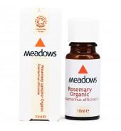 Organic Rosemary Essential Oil (Meadows Aroma) 10ml